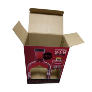 2 Bottle Corrugated Cardboard Carrier (FP6065) pictures & photos