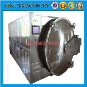 Industrial Automatic Rotary Microwave Vacuum Dryer pictures & photos