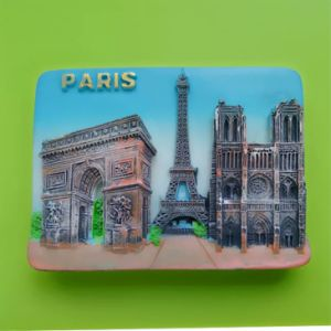 Heart Shape France Famour Tourist Spot Home Decor Fridge Magnet for Kitchen Decoration pictures & photos