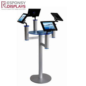 Counter Top iPad Display Metal & Acrylic Electronic Product Display Stand pictures & photos