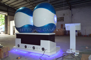 3 Seats Vr Cinema 9d Game Machine for Shopping Center pictures & photos