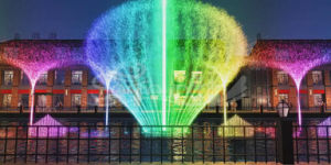 3D Effects Digital Swing Nozzle Music Dancing Water Fountain pictures & photos
