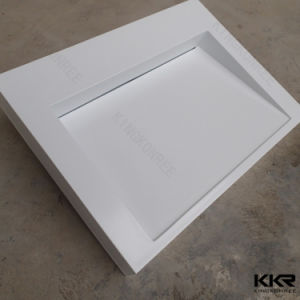 Kingkonree Solid Surface Modern Wall Hung Basin pictures & photos