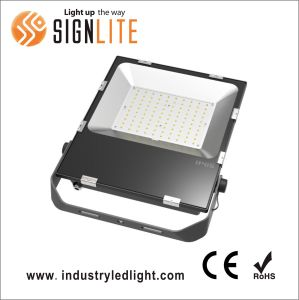 Super Slim 110lm/W Good Quality 10- 200W LED Floodlight pictures & photos
