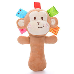 Soft Plush Hand Rattle Baby Girls Toys Infant Dolls pictures & photos