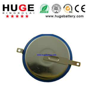 3.6V Lithium Rechargeable Button Cell Battery Lir3048 pictures & photos