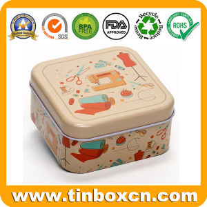 Square Gift Tin Box Packaging for Metal Can Tin Container pictures & photos