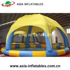 Custom Inflatable Adult Swimming Pool with Cover, Inflatable Water Pool pictures & photos