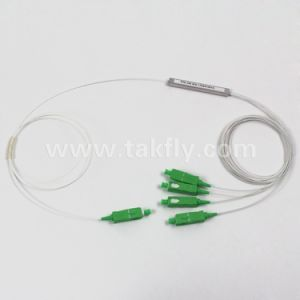 FTTH/Gpon Steel Tube Fiber Optic 1X4 PLC Splitter pictures & photos