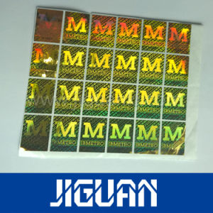 Free Design Silver Security Hologram Laser Sticker pictures & photos