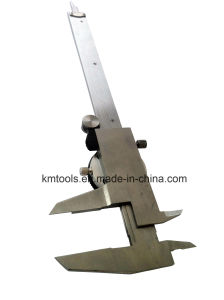 0-150mm/0-6′′ Stainless Steel Dial Caliper with Both Metric and Inch Measurement pictures & photos