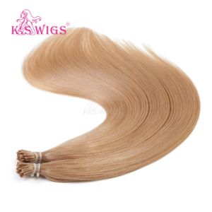 K. S Wigs I Tip Hair  Color #27 Virgin Remy Human Hair Extension pictures & photos