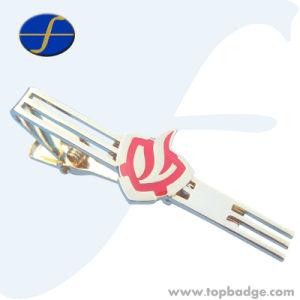 Fashion Hot Simple Copper Metal Tie Bar Tie Clips Manufacture (FTTB2603A) pictures & photos