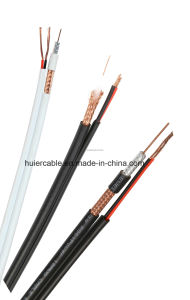 Camera RG6 RG59 CCTV Cable with Power Wires pictures & photos