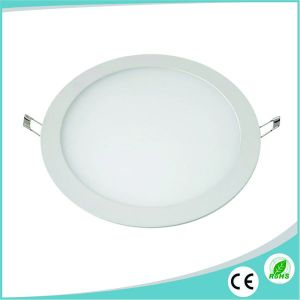2017 Hot Sale 18W Ultra Thin Round LED Panel Lighting pictures & photos