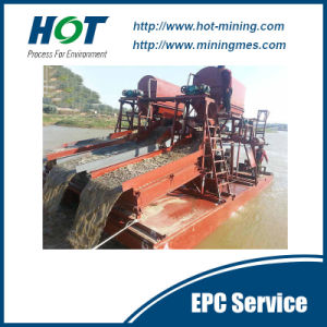Good Quality Gold Mining Dredge Dual-Suction Gold Dredger pictures & photos
