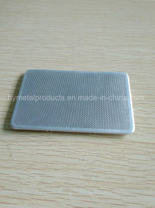 Customized Perforated Stainless Steel Speaker Mesh for Audio pictures & photos