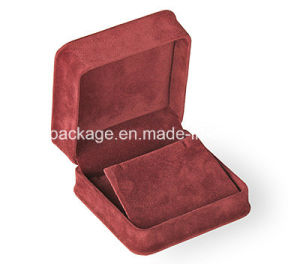 Factory Wholesale Elegant Velvet Chime Waist Jewelry Box pictures & photos