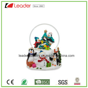 Hand-Painted Resin Gift 60mm Snow Globe for Home Decoration&Souvenir Gift and Promotional Gifts pictures & photos