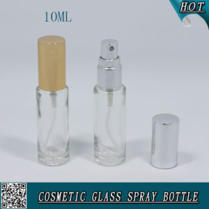 Cylinder Shaped Cosmetic Glass Pump Spray Bottle for Perfume 10ml pictures & photos