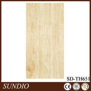 Wood Grain Finish 600*600 Super Thin Glazed Ceramic Flooring Tile pictures & photos