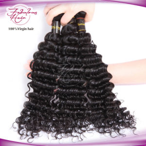 Unprocessed Remy Human Hair Weave 100% Peruvian Virgin Hair pictures & photos