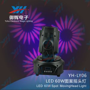 New 60W DJ Dicso Stage Show LED Moving Head Spot Lighting pictures & photos