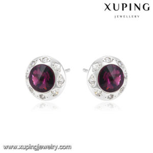 92866 Fashion Newest Earring Stud Round Crystals From Swarovski Jewelry pictures & photos