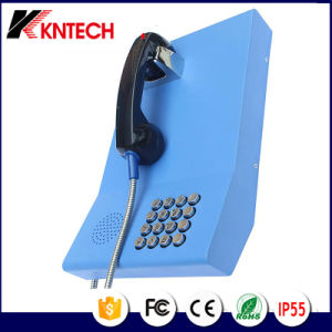 Public Bank Service Telephone Knzd-23 Outdoor Phone Antique Telephone Booth pictures & photos