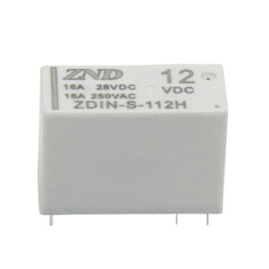 Normally Open Small Size 14f Power Relay 16A 12V 4pin Electromagnetic Relay pictures & photos