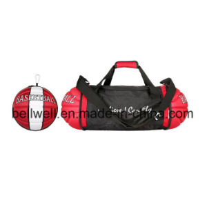 Folding Travel Bag with Basketball Shape pictures & photos