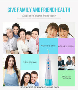 Portable Dental Oral Irrigator for Travel Usage pictures & photos