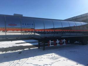54 000 litres aluminum edible oil tanker trailer pictures & photos