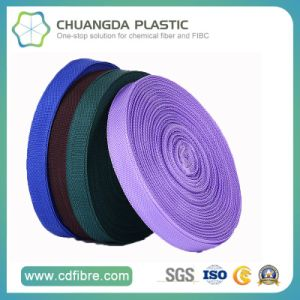 100% Fashion Colorful Polypropylene (PP) Webbing for Clothing pictures & photos