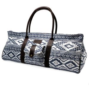Durable and Lightweight Custom Gym Patterned Yoga Mat Tote Bag pictures & photos