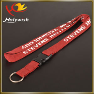 Custom Neck Strap Key Chain Polyester Jacquard Lanyard pictures & photos