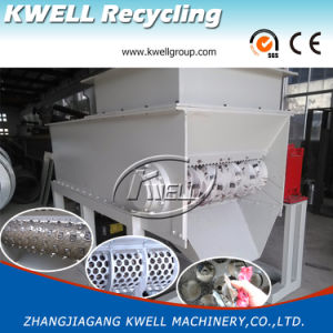 Plastic Film Lump Bag Block Pipe Shredder/Recycling Machine pictures & photos