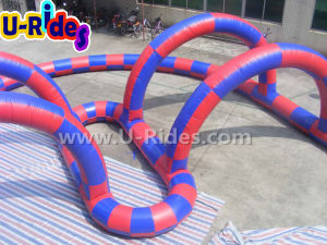 Car Racing Inflatable Race Track for Go kart pictures & photos