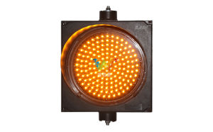 High Quality Road Safety 300mm Yellow Signal LED Traffic Light pictures & photos