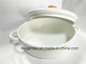 Enamelware Pot Enamel Pan 26cm pictures & photos