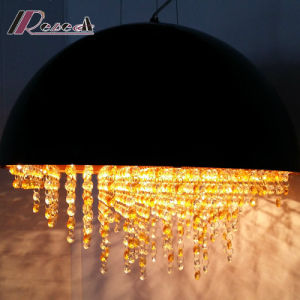 Hot Sale Modern Crystal Round Pendant Lamp for Hotel pictures & photos