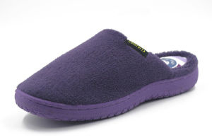 Winter Fleece Pure Color Slippers for Promotion pictures & photos