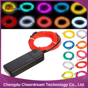 1.4mm, 2.3mm, 3.2mm, 5.0mm EL Wire Neon Rope Light pictures & photos