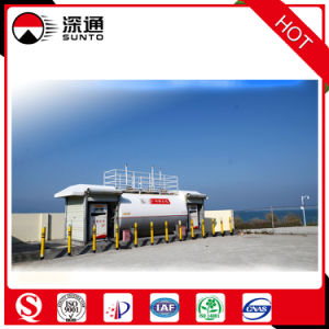 40000L Anti-Explosion Portable Fuel Station Oil Station Using at The Seaside pictures & photos