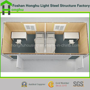 Container House Made in Sandwich Panel with Indoor Facilities pictures & photos