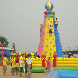 Commercial Inflatable Floating Rock Climbing Mountain for Sale pictures & photos