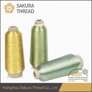 Sakura Free Sample Customized Metallic Thread for Weaving pictures & photos