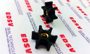 Customerized Rubber+Bronze Bonded Parts for Pumps Impeller pictures & photos