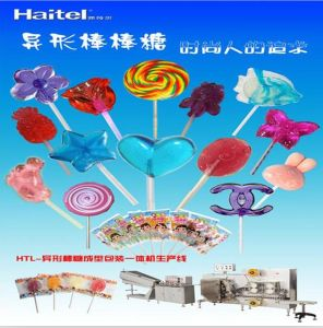 Best Price Htl-Te600b Irregular Flat Lollipop Candy Production Line pictures & photos