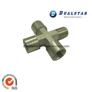Four Way Brass Pipe Fitting for Multilayer Pipe pictures & photos